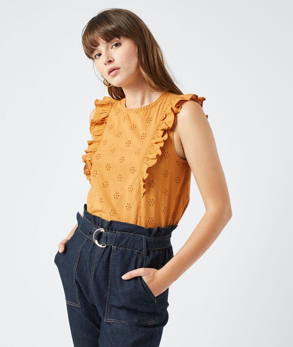 Blusa guipur