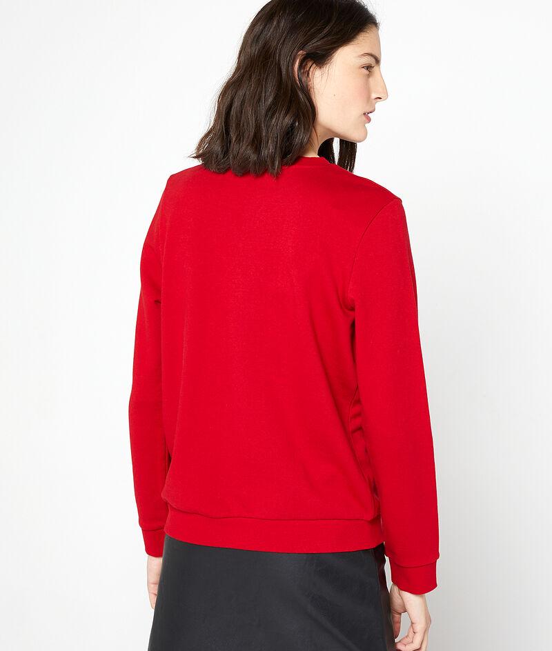 Sudadera 'French kiss' de algodón