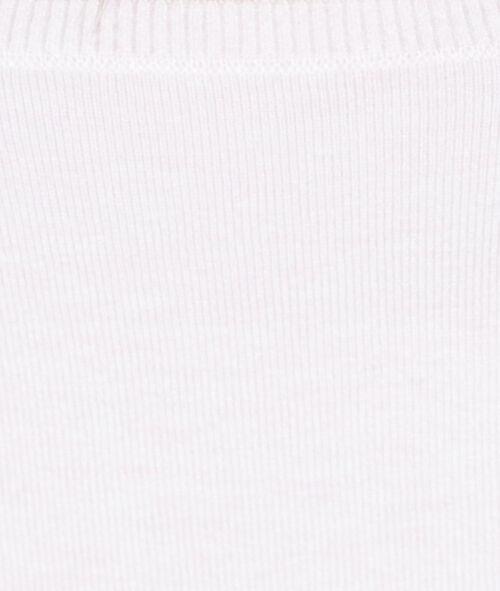 Jersey de punto fino cuello barco