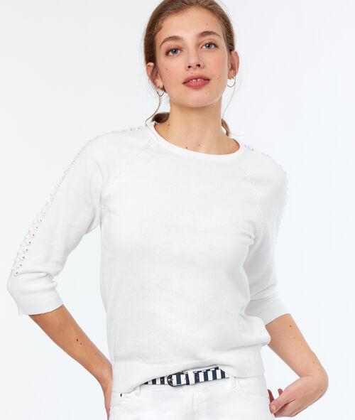 Jersey manga 3/4 algodón