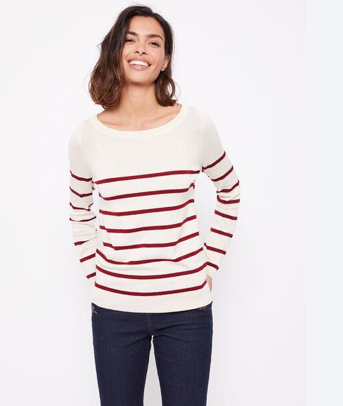 Jersey marinero cuello redondo