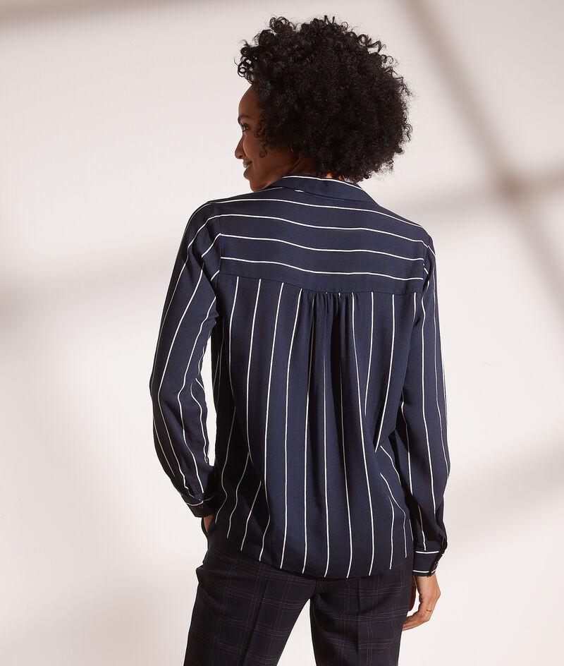 Camisa estampada de rayas