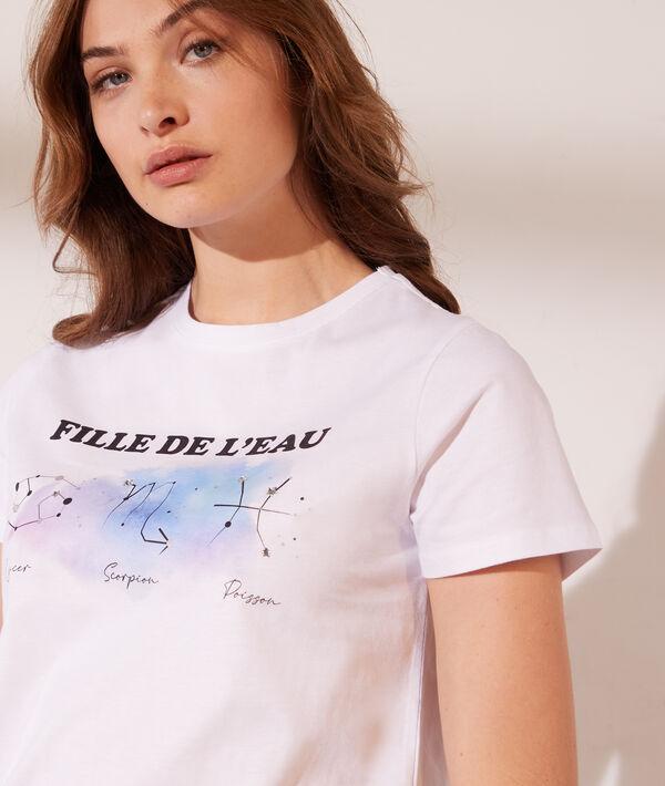 Camiseta estampada 'fille de l'eau'