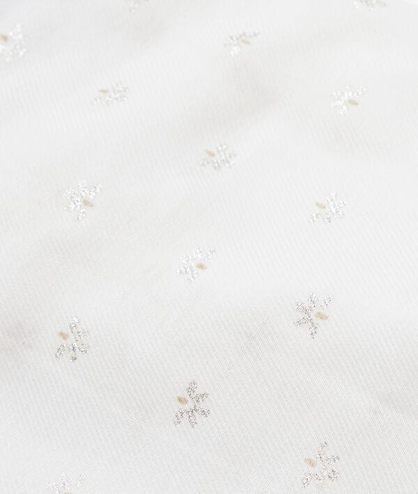 Pañuelo con motivos florales
