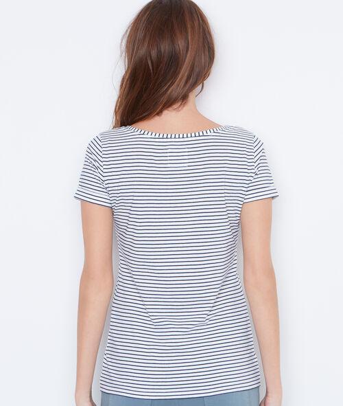 Camiseta estampado marinero