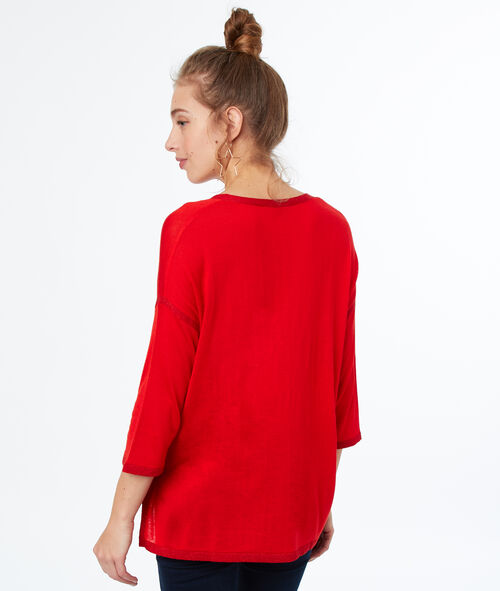 Jersey cuello en V