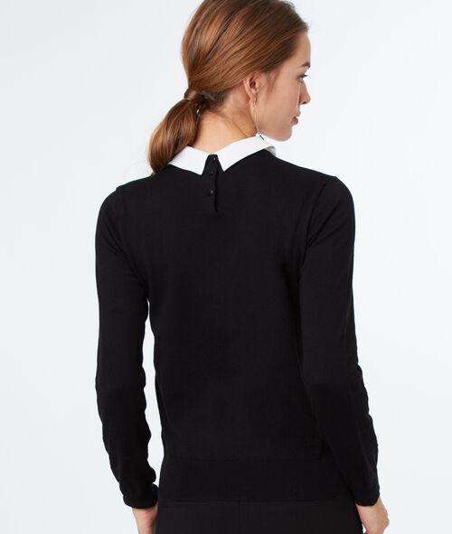 Jersey cuello camisero algodón