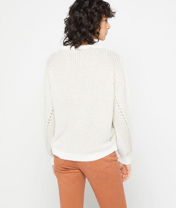 Suéter de punto grueso