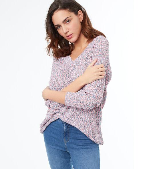 Jersey largo cuello en V