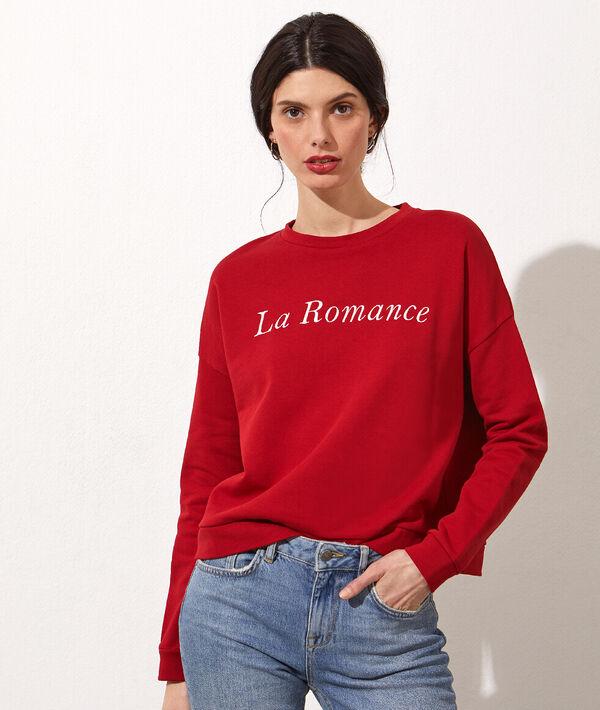 Jersey bordado 'La romance'