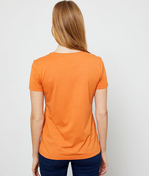 Camiseta serigrafiada cebra