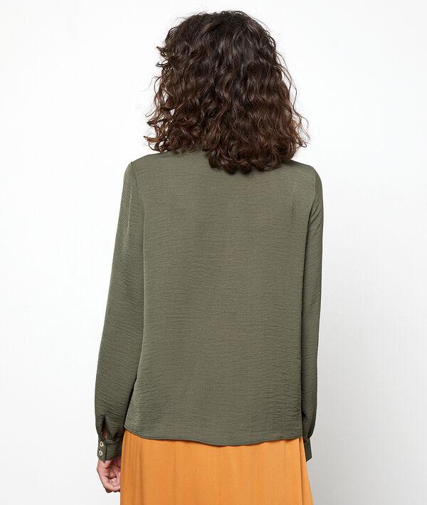 Camisa cuello redondo