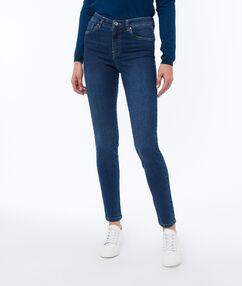 Jean skinny brut.