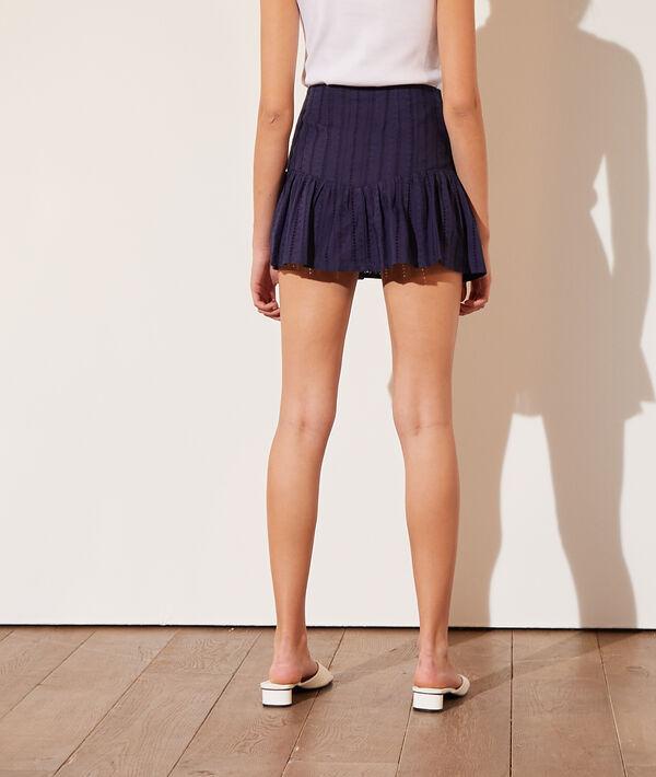 Falda corta bordados ingleses