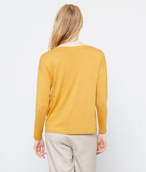 Suéter de punto fino