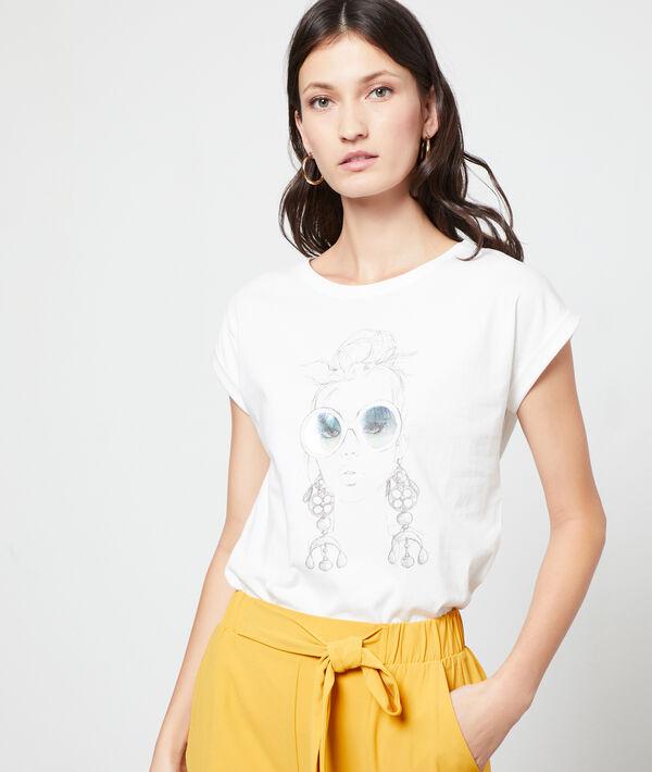 Camiseta serigrafiada de algodón orgánico