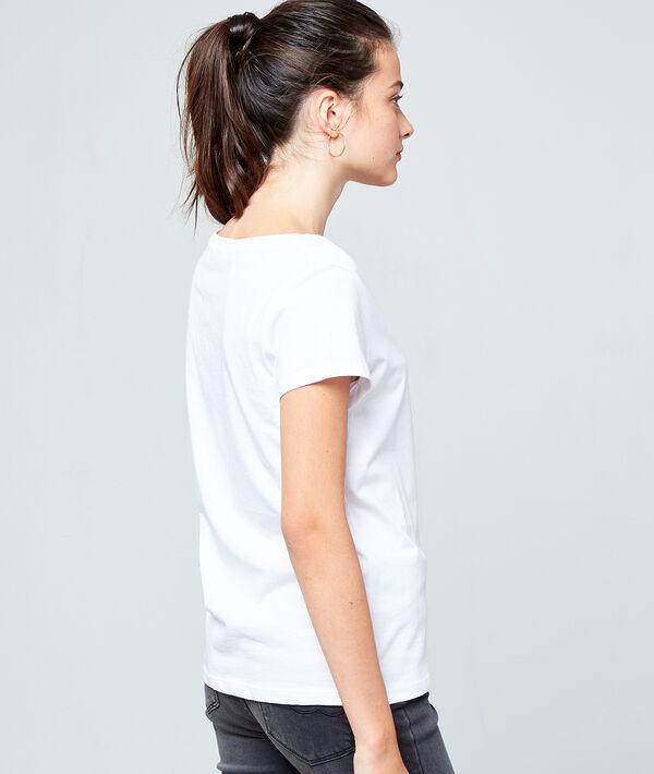 Camiseta 'Let's rock' de algodón bio