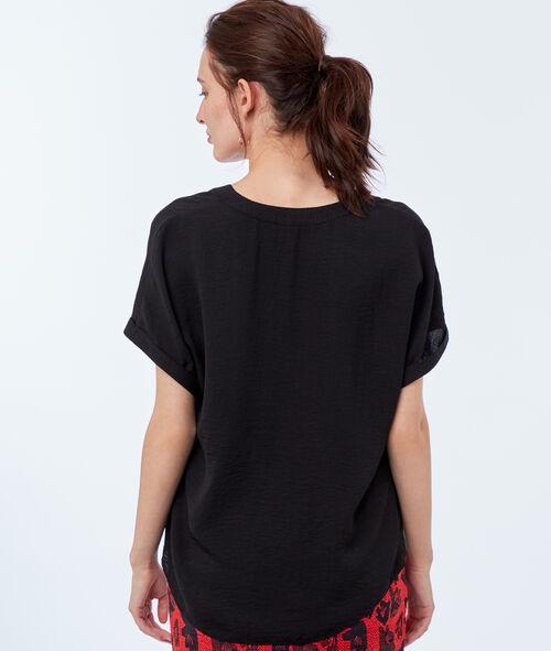 Blusa escote tunecino