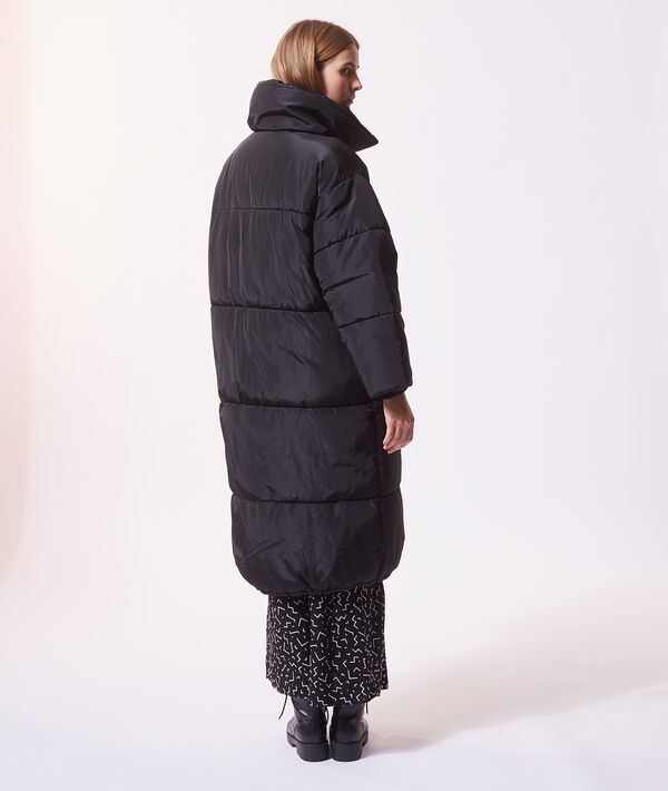 Abrigo largo acolchado