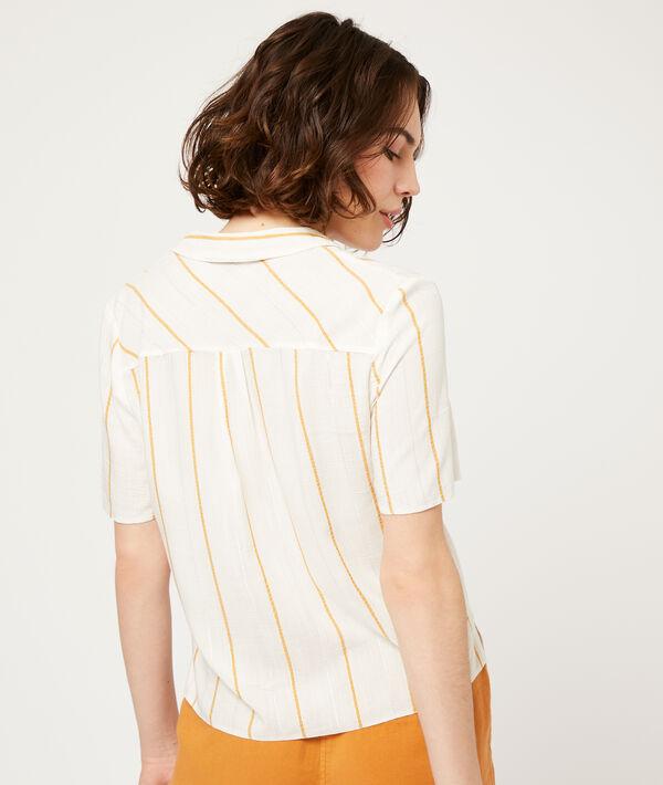 Camisa estampado de rayas