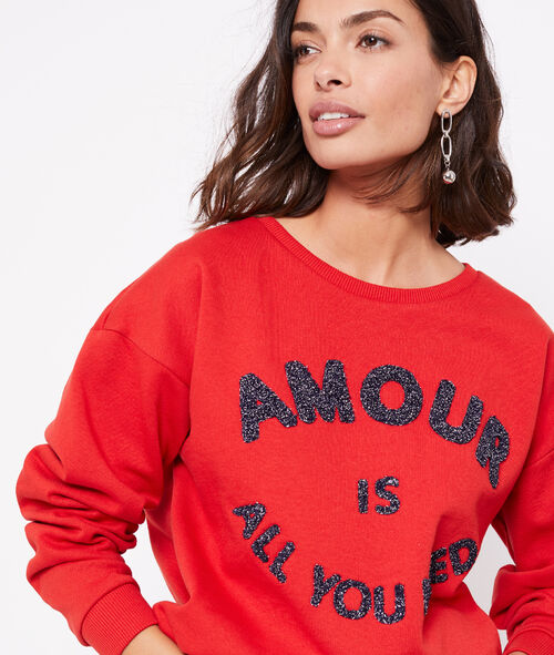 "Sweat ""Amour is all you need"""