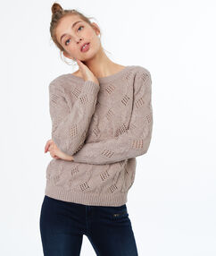 Pull tricot dune.