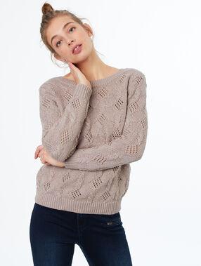 Jersey tricotado dune.