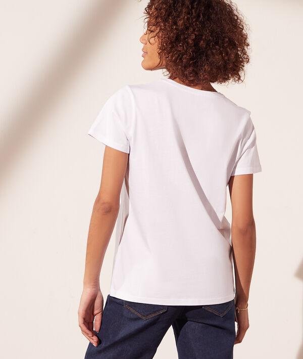 Camiseta 'culottée'