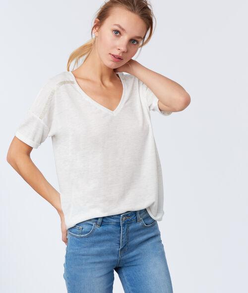 Camiseta escote en V