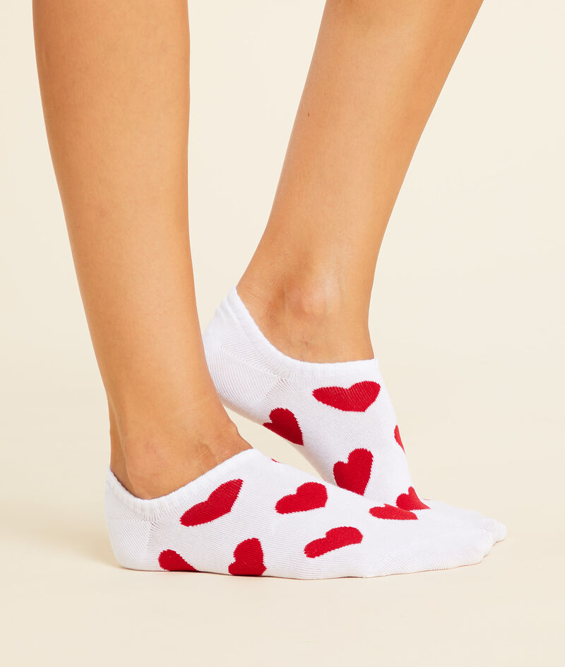 Lote de 2 pares de calcetines corazones
