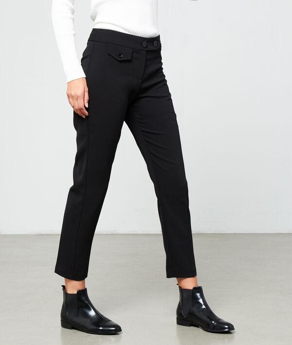 Pantalón alto de pinza