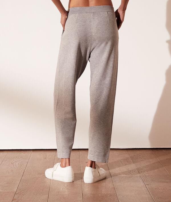 Pantalón jogger de punto