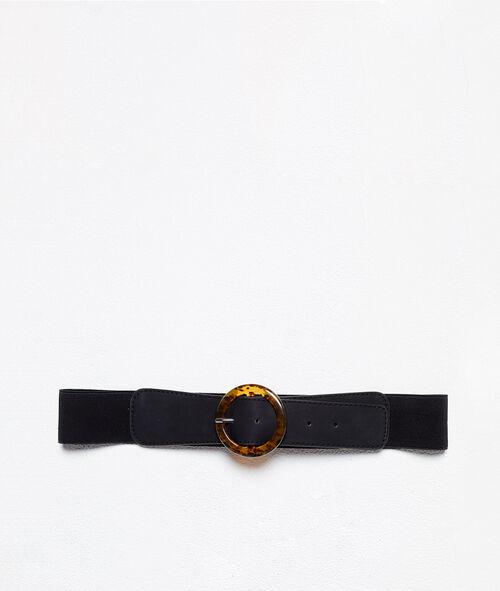 Cinturón con hebilla amarmolada