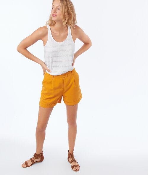 Pantalón corto tencel