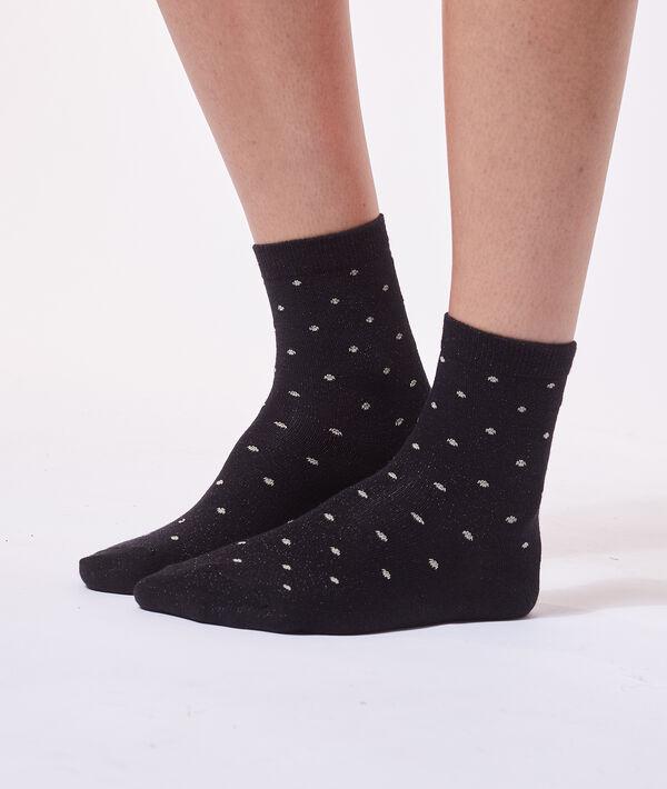 Calcetines estampado de lunares