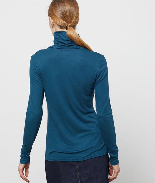 Camiseta manga larga cuello alto