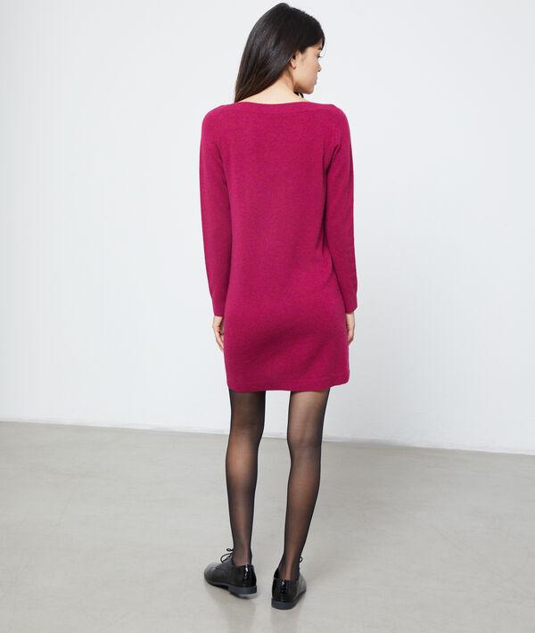 Vestido suéter de cachemira