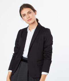 Veste blazer noir.