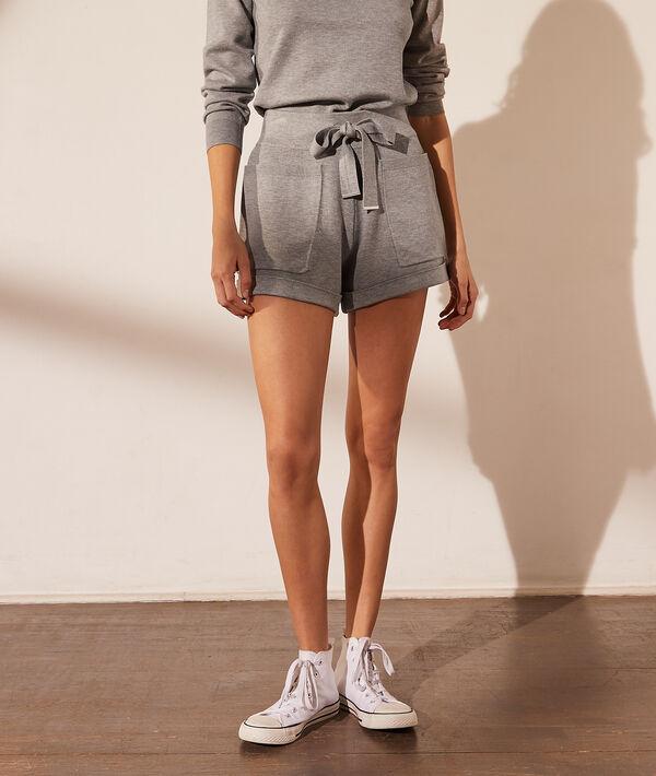Pantalón de punto con lazada
