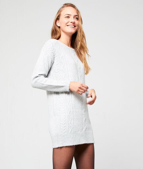 Vestido suéter de punto