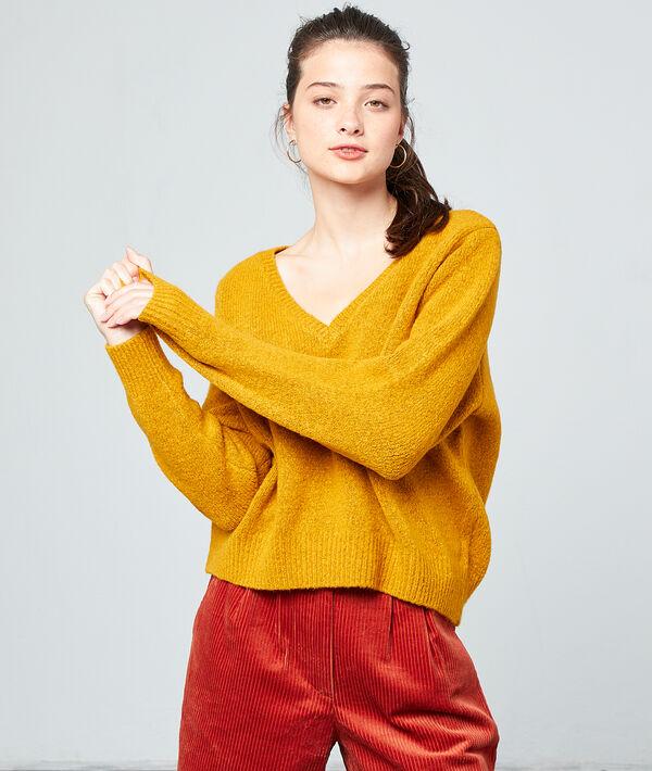 Suéter cuello en V