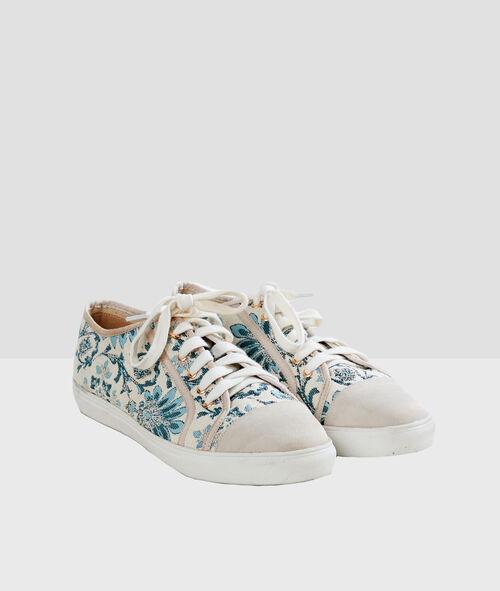 Zapatillas estampado floral