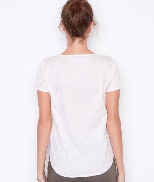Camiseta manga corta escote en V