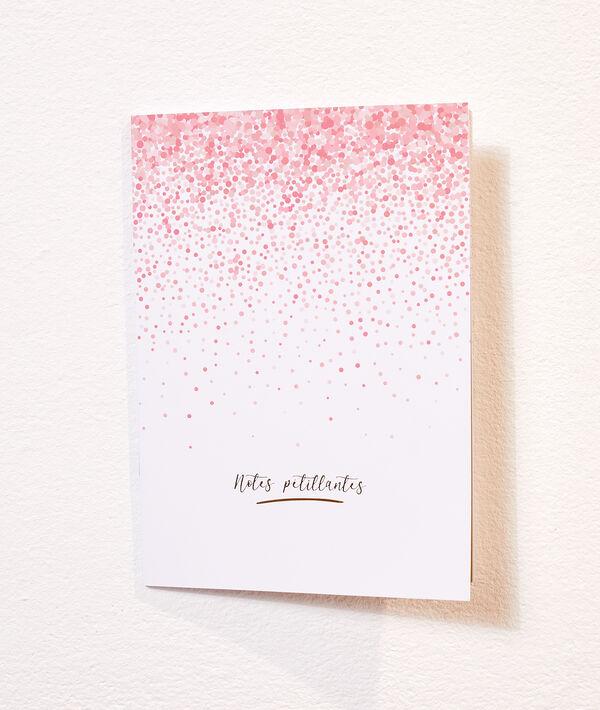 Cuaderno 'notes pétillantes'