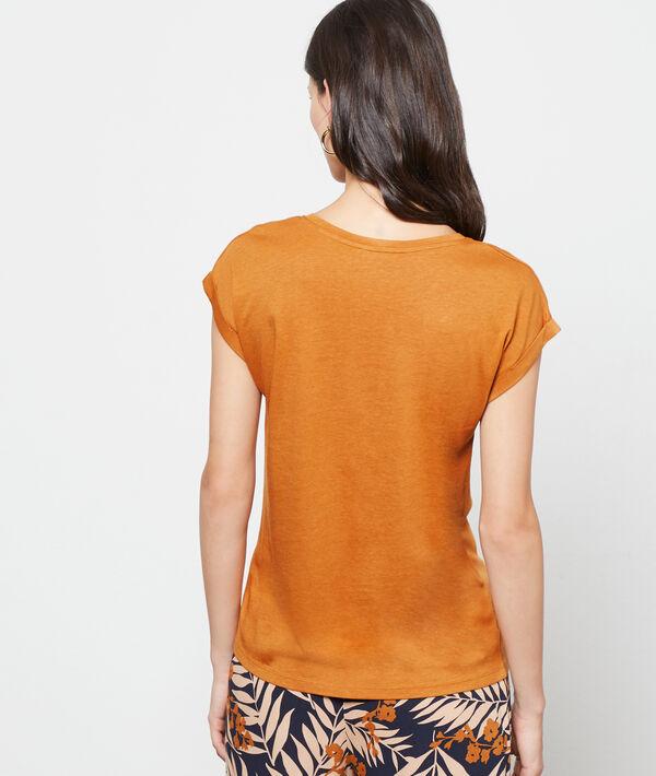 Camiseta serigrafiada jirafa