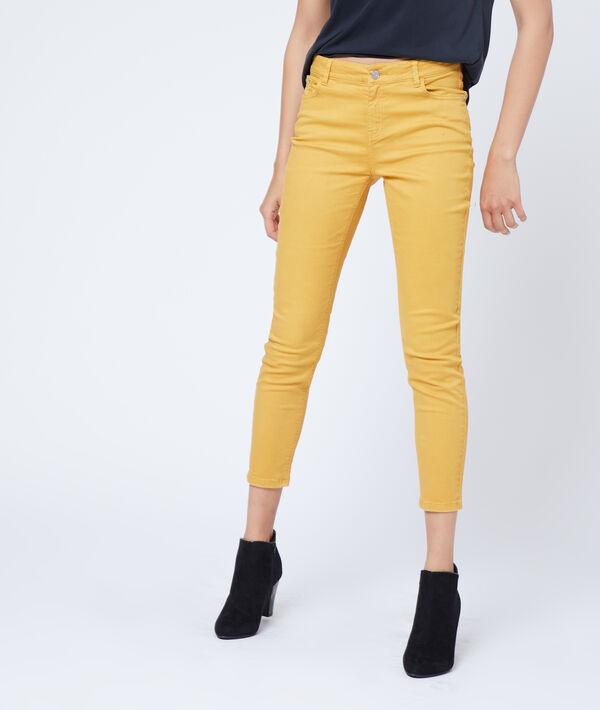 Pantalón ajustado 7/8 de algodón