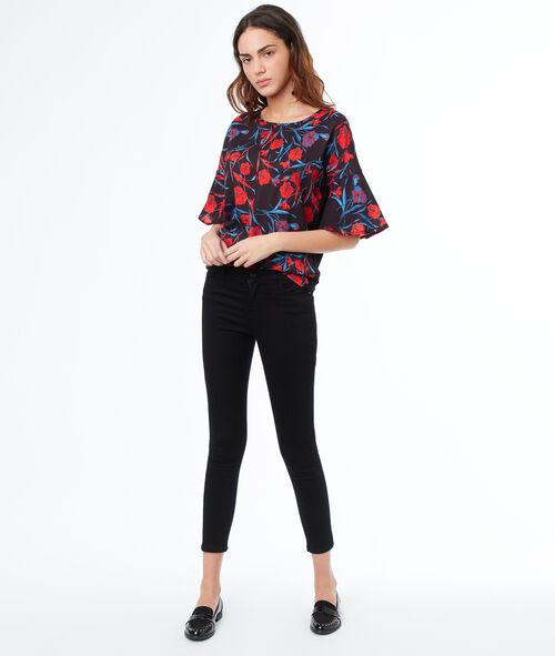 Camiseta manga 3/4 estampada
