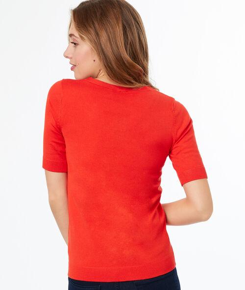Jersey fino manga corta