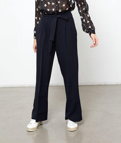 Pantalón largo anudado