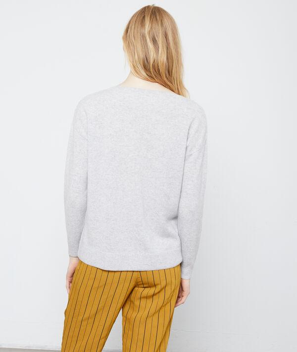 Suéter punto torsadé de cachemir